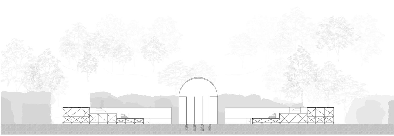 Bauplan Raumversuch Nummer 6 Annekatrin Doell Schnitt 2 Glaskorridore