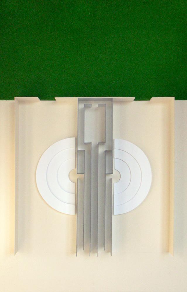 Raumversuch Nummer 6 Architekturmodell
