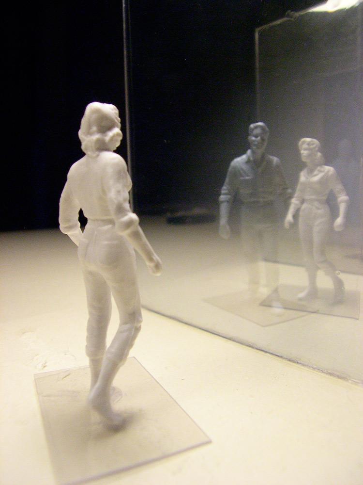 Raumversuch Nummer 6 Annekatrin Doelll Glasgang Experiment